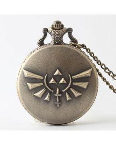 The Legend of Zelda Quartz Pocket Watch Necklace Pendant Cosplay Accessories