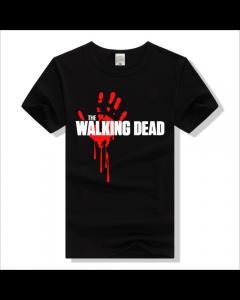 The Walking Dead Bloodspray Logo Short T-shirt