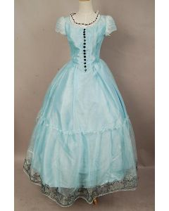 Tim Burton's Alice In Wonderland Alice Blue Dress Costume