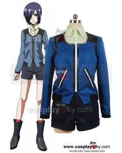 Tokyo Ghoul Touka Kirishima Casual Shirt Coat Outfit Set Cosplay Costume