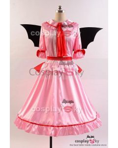 Touhou Project the Embodiment of Scarlet Devil  Remilia Scarlet Dress Cosplay Costume
