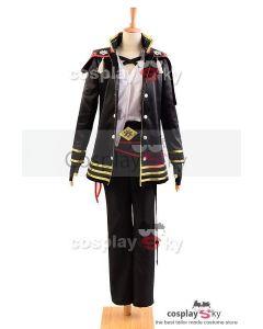 Touken Ranbu Akashi Kuniyuki Uniform Outfit Cosplay Costume