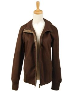 Twilight New Moon Bella Swan Brown Twill  Jacket Costume