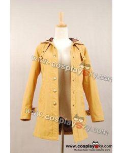 Twilight New Moon Bella Tan Long Coat Jacket