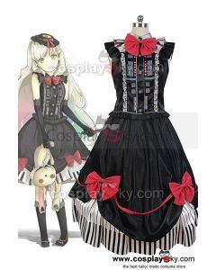 Vocaloid 3 Library Mayu Dress Outfit Cosplay Costume