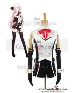 Vocaloid Hatsune Miku Project DIVA-f 2nd LUKA Uniform Cosplay Costume