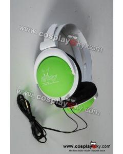 Vocaloid Miku Hatsune Green Headphones Headset