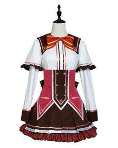 Wagamama High Spec Toa Narumi Dress Cosplay Costume