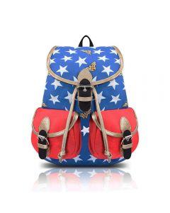 Wonder Woman Oxford Backpack Bucket Bag Cosplay Accessories