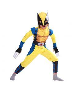 X-Men Origins: Wolverine Logan Howlett Jumpsuit Cosplay Costume For Kid