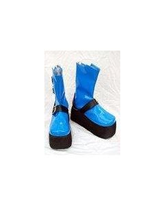 X Shogo Asagi Cosplay Boots Shoes Custom Made