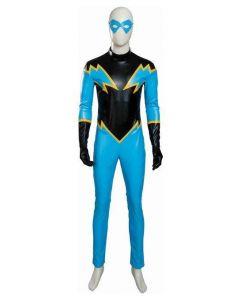 Young Justice Black Lightning Outfit Cosplay Costume