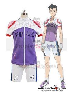 Yowamushi Pedal Kyoto Fushimi members Bicycle Race Suit Cosplay Costume