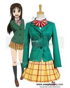 Yowamushi Pedal Miki Kanzaki School Uniform Outfit Cosplay Costume