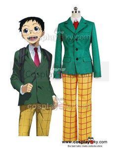 Yowamushi Pedal Sakamichi Onoda School Uniform Outfit Cosplay Costume