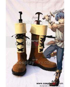 Ys VS Sora no Kiseki Julio Cosplay Boots Shoes