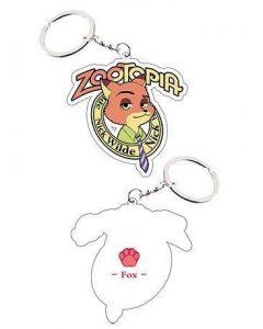 Zootopia Fox Nick Keychain Cosplay Accessories