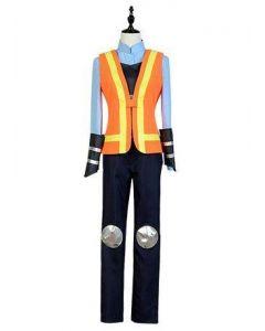 Zootopia Rabbit Judy Traffic Police Uniform Cosplay Costume