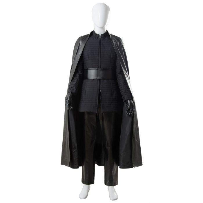 Star Wars 8 The Last Jedi Kylo Ren Outfit Ver 2 Cosplay Costume