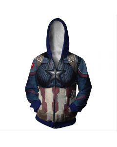 Avengers 4£ºEnd Game Quantum Realm Captain America Hoodie