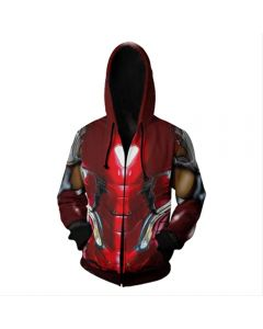 Avengers 4£ºEnd Game  Quantum Realm Iron Man Mark 85 Hoodie