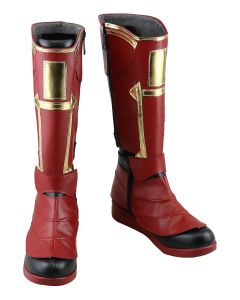 Avengers 4 £ºEndgame Captain Marvel Carol Danvers Cosplay Shoes