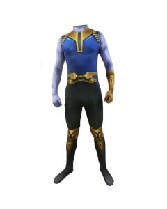 Avengers 4 Endgame Thanos Jumpsuit Adult Cosplay Costume