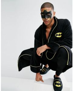 Batman Bath Robe Costume Bathrobe
