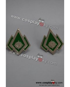 Battlestar Galactica Master Chef Petty Officer Pip/Pin Set for Costumes (Free shipping)