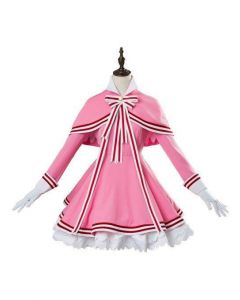 Cardcaptor Sakura 2 CCS 2 Kinomoto Sakura Dress Cosplay Costume