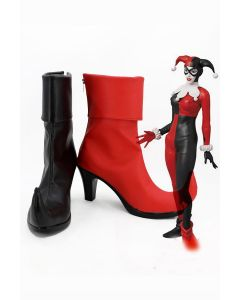 DC Comics Suicide Squad Harley Quinn Boots Cosplay Shoes