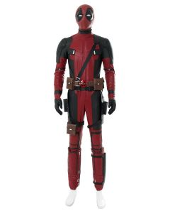 Deadpool 2 Deadpool Suit Oufit Halloween costume for males females