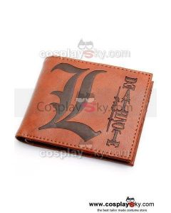 Death Note L¡¤Lawliet Wallet Purse