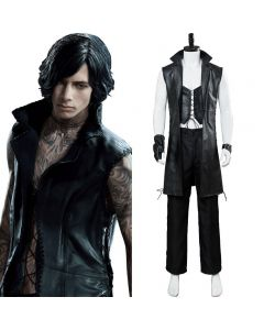 Devil May Cry 5 Mysterious Man Vitale V Cosplay Costume Version Two