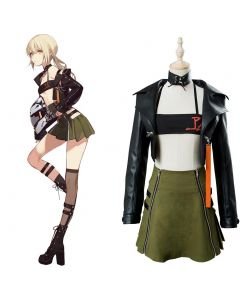 Fate/Grand Order Arturia and Altria Cosplay Costume Moon Goddess Event Outfit