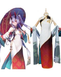 Fate/Grand Order Tomoe Gozen Cosplay Costume FGO Third Anniversary Outfit