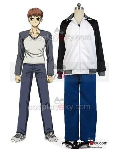 Fate/stay night Shir  Emiya Sports Coat Pants Outfit Cosplay Costume