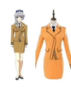 Full Metal Panic! Invisible Victory Teletha Uniform Dress Cosplay Costume