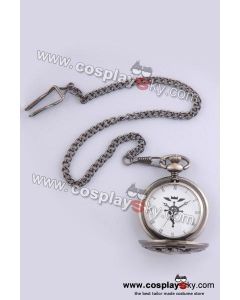 Fullmetal Alchemist Edward Elric's Pocket Watch Cosplay Prop