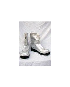 Macross Frontier Sheryl Nome Cosplay Boots Silver