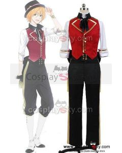 MARGINAL#4 IDOL OF SUPERNOVA Nomura Aaru Uniform Cosplay Costume
