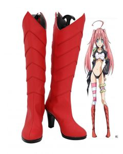 Matter Was Slime After Reincarnation Milim Nava Cosplay Shoes Boots