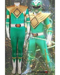 Mighty Morphin Power Rangers Burai Dragon Ranger Cosplay Costume