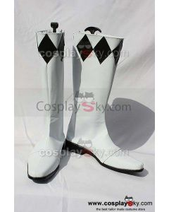 Mighty Morphin Power Rangers Goushi Mammoth Ranger Cosplay Boots Shoes