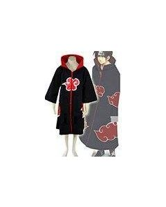 Naruto Akatsuki Itachi Uchiha Cosplay Costume (Unhooded Version)
