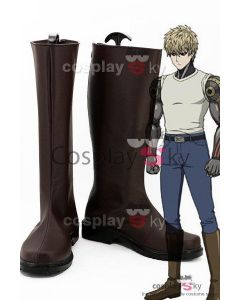 One-Punch Man Demon Cyborg Genos Cosplay Shoes