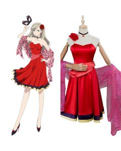 Persona 5 Anne Takamaki Masquerade Party Cosplay Costume