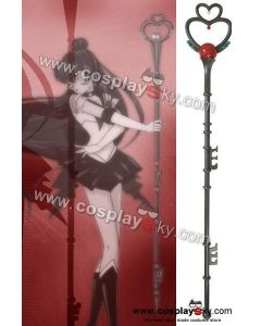 "Sailor Moon Sailor Pluto Meiou Setsuna 71"" Garnet Rod"