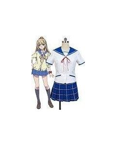 Strike the Blood Asagi Aiba Cosplay Costume