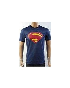 Superman Man of Steel Superman Blue T-Shirt New